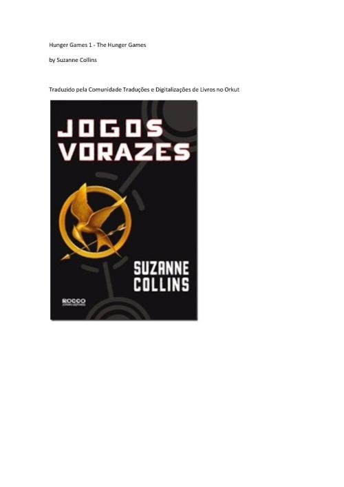 Jogos Vorazes - Suzanne Collins