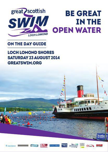 Great Scottish Swim 2014 - A6 On The Day Guide (15)