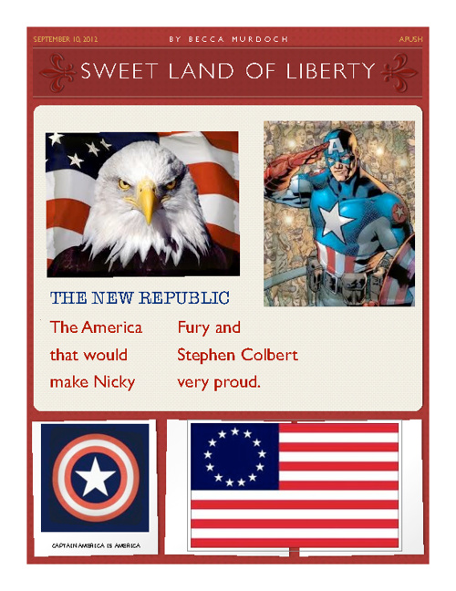 Sweet Land of Liberty: An Ode to America