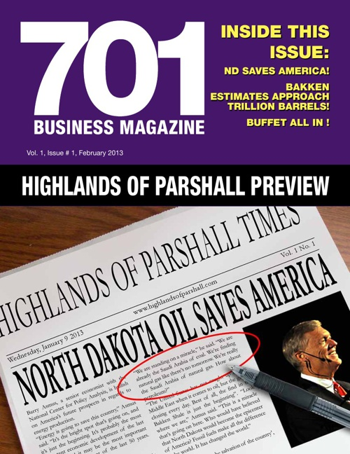 701 Business Magazine Jan. 2013