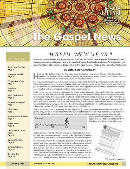 Gospel News JanFeb 2017