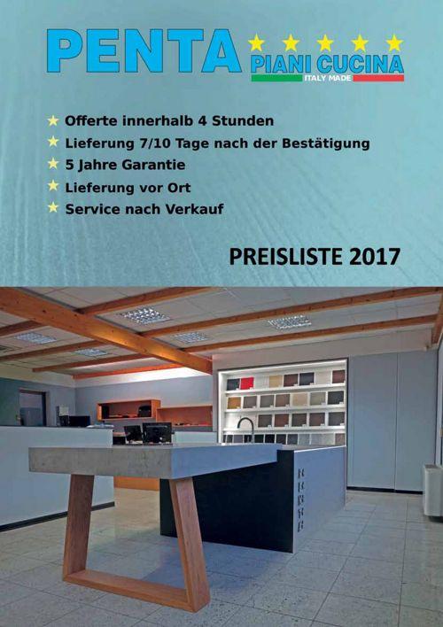 Pentastone - Listino 2017 (DE)