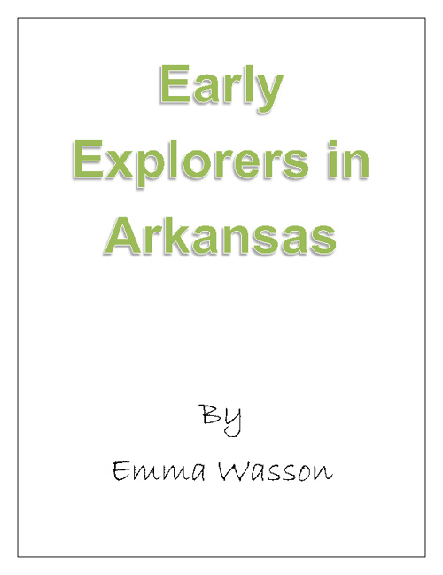 Early Explorers of Arkansas