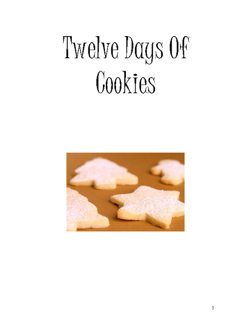 Twelve Days Of Cookies