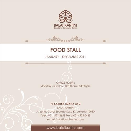 FOOD STALL 2011