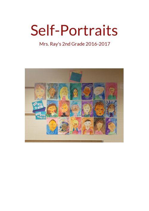 Self Portraits 2nd Grade 2016-2017