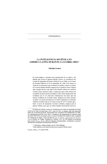 New Flip INTELIGENCIA SOVIETICA EN AMERICA LATINA