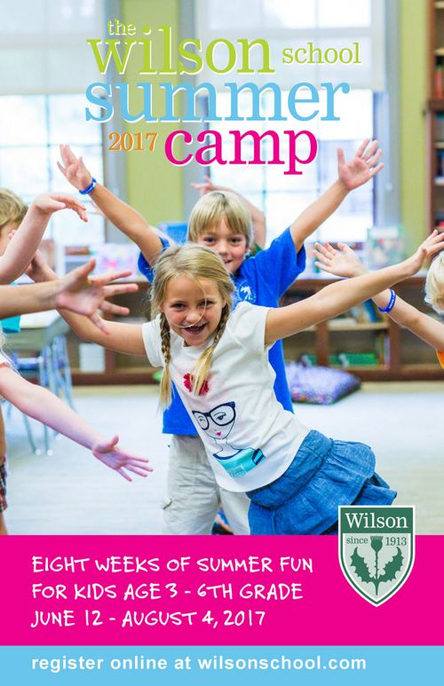2017 Wilson Summer Camp Brochure