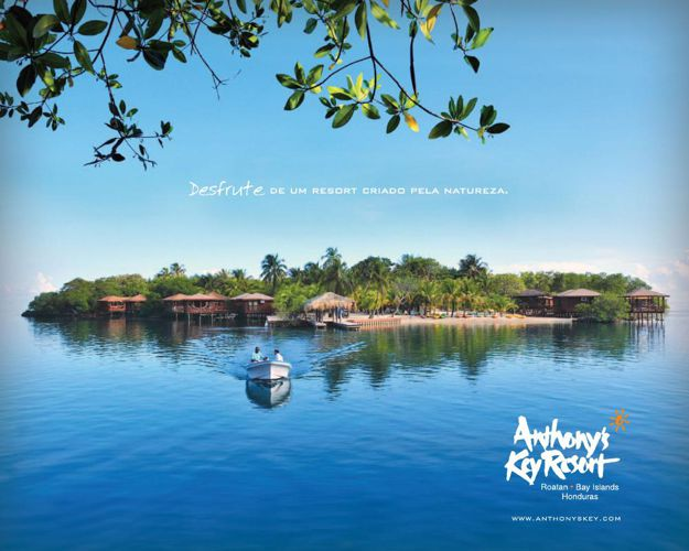 Anthony Key Resort brochure - Portuguese