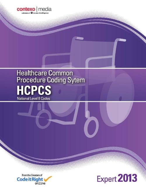 Contexo HCPCS-13 Tabular Section