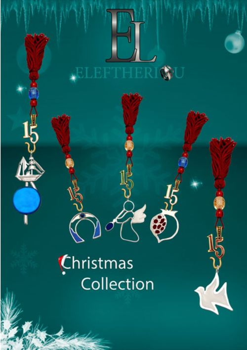 ELEFTHERIOU EL|Handmade Greek Silver Christmas Gifts Col