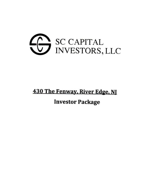 430 The Fenway Investor Package