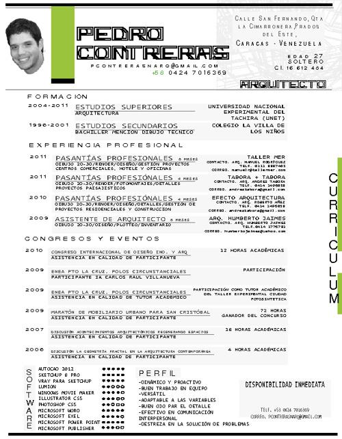 CV.Pedro Contreras