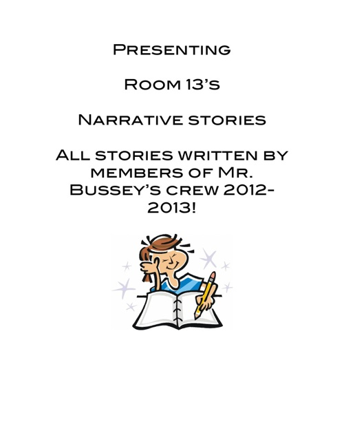 Room 13 Presents Our Narratives