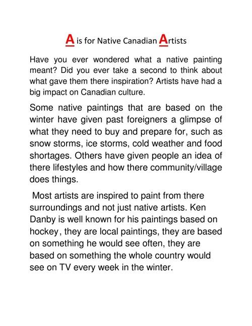 7/8 Canada ABCs