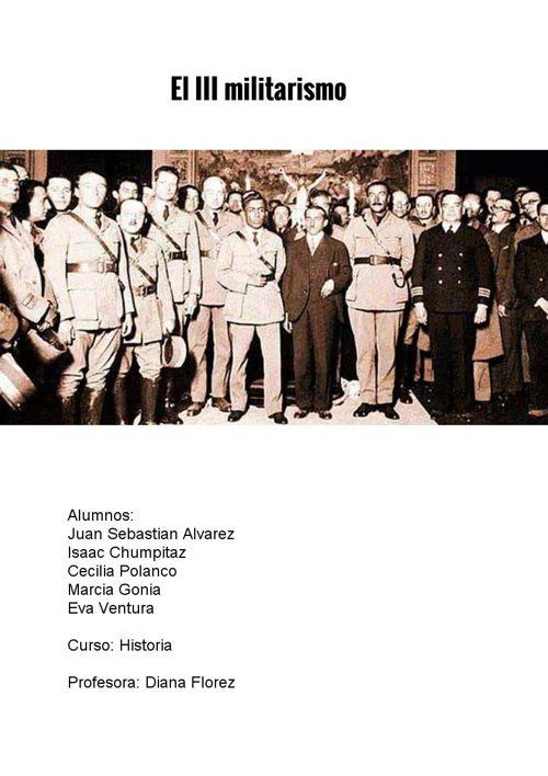 Gobiernos desde 1933 hasta 1968