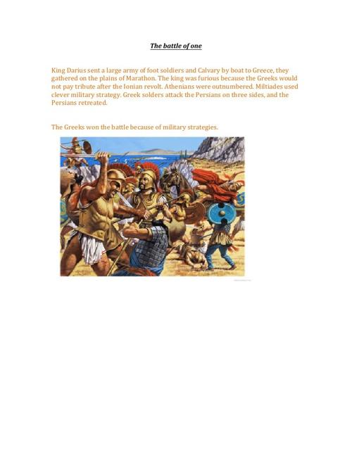 Persian War Battles