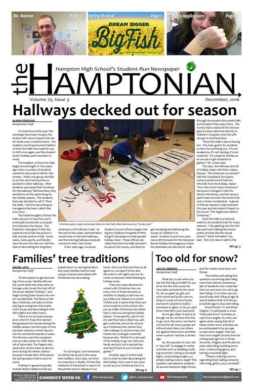 December 2016 Hamptonian