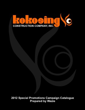 Special Promotions Campaign - Kokosing Construction Company