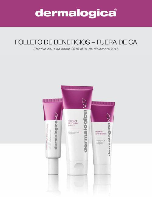 dermalogica brochure Non CA full-time Spanish
