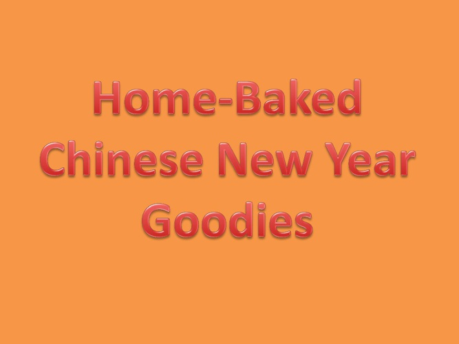 Online Retailer – Home-baked CNY