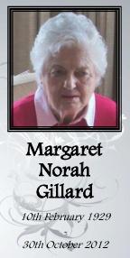 Margaret Gillard