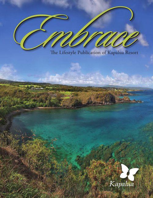 Kapalua Resort Embrace Magazine 2016