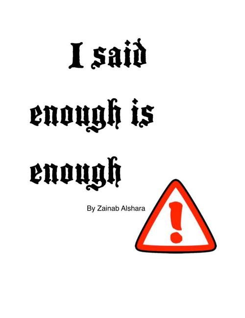 I said enough is enough (final)