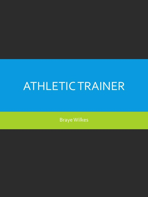 AthleticTrainerppt