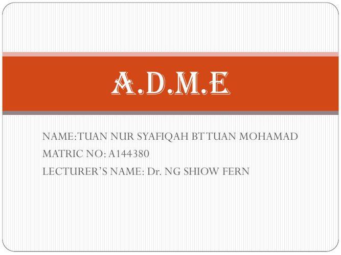 ADME (A144380)