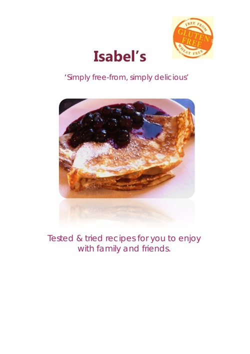 www.isabelsfreefrom.co.uk