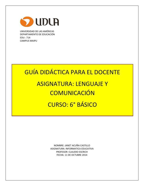 Copy of Informatica Educativa