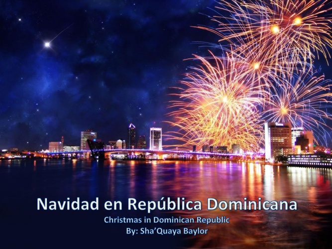 Christmas in Dominican Republic