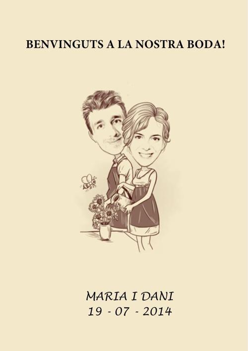 INVITACIÓ BODA MARIA I DANI 19 juliol 2014 (vb)