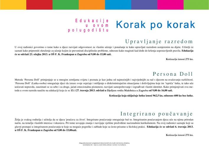 Katalog seminara