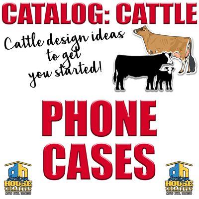 DHC ORIGINALS© CATALOG CATTLE PHONE CASES