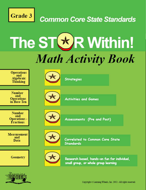 Common Core 3rd Grade Math Activity Book