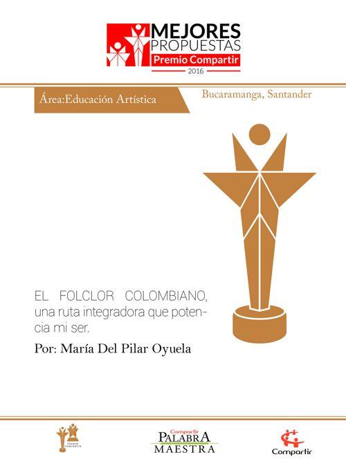 El folclor colombiano, una ruta integradora que potencia mi
