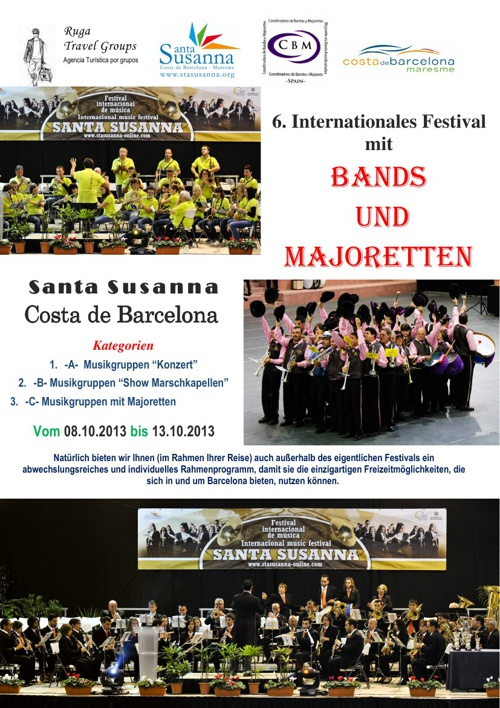 6. Internationales Musik Festival Santa Susanna