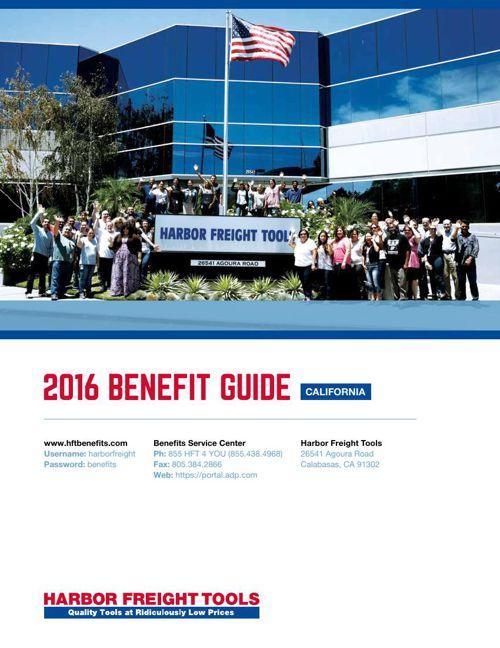 2016 HFT Benefit Guide CA