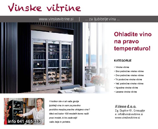 Wine cooler brochure 2013