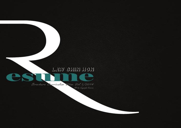 Law Chin Hon Brochure CV Vol.1/2014
