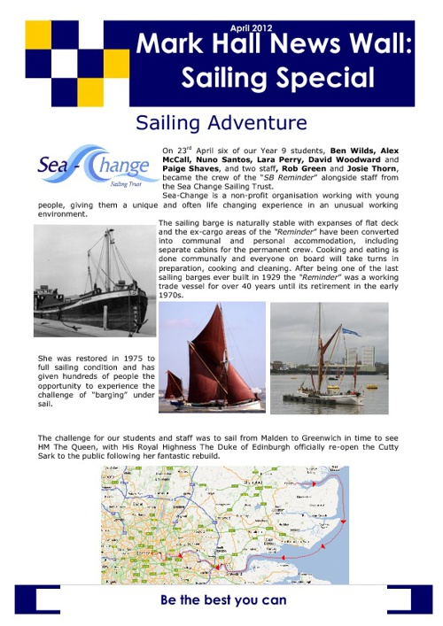 Sailing Special