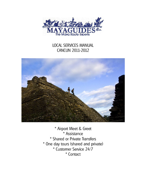 Mayaguides Manual of Services