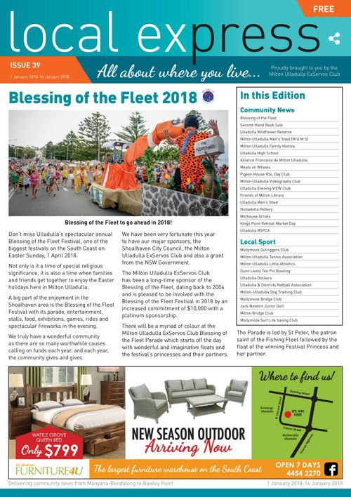 Issue 39 - 1-14 January 2018