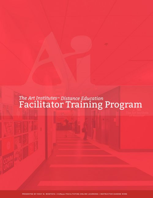 CUR532_RMontoya_FacilitatorTrainingProgram