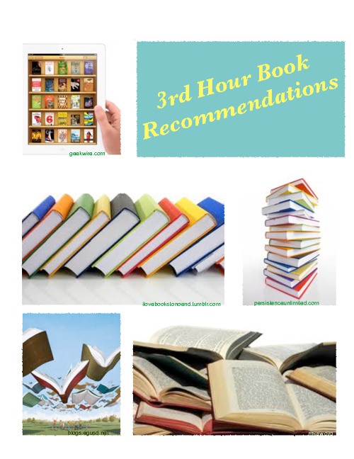 3rd Hour Book Recommendations