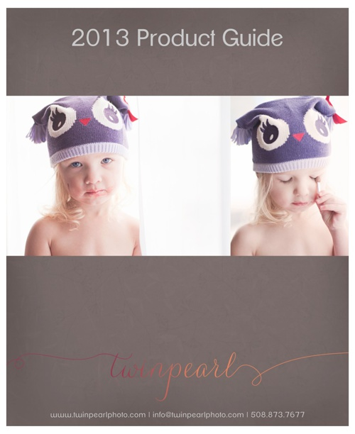 2013 Twin Pearl Photography Product Guide