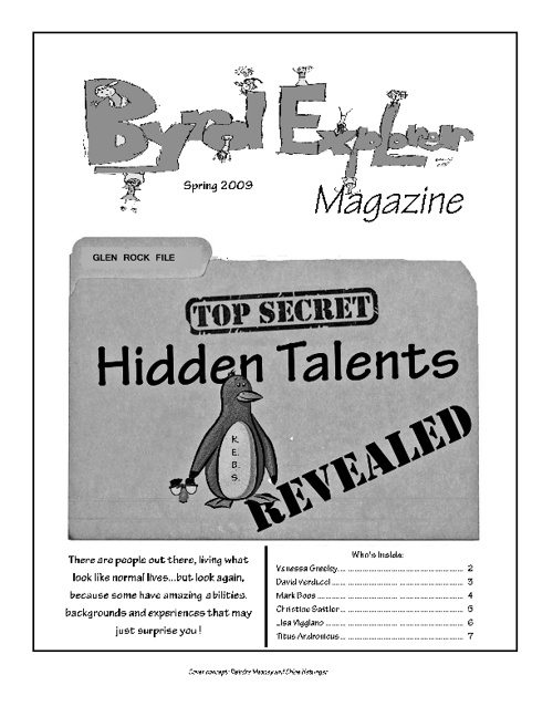 Spring 2009 - Hidden Talents REVEALED