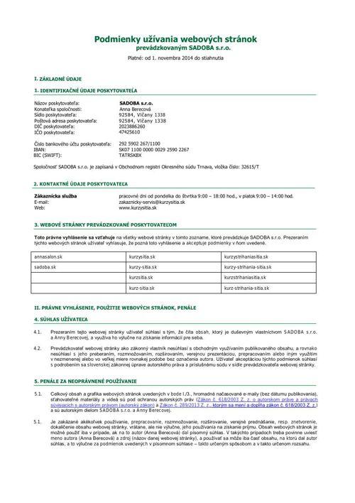 podmienky-pouzivania-webstranky-kurzysitia